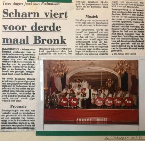Artikel in De Limburger 1980